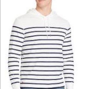 Ralph Lauren Shirts - NWOT RL hooded soft cotton LS jersey red POLO logo